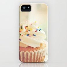 VANILLA CUPCAKE PHOTOGRAPH Slim Case iPhone (5, 5s)