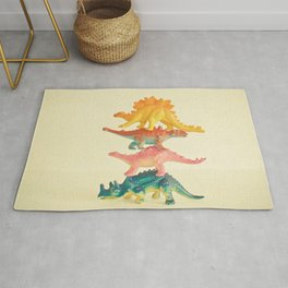 Dinosaur Antics Rug