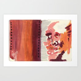 What You Say & What You Mean Art Print