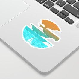 Go West (sail away in my boat) Sticker
