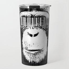 Barcode ape Travel Mug