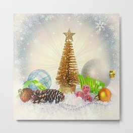 Christmas Cheer Metal Print