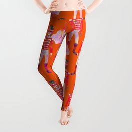Nutcracker Ballet - Orange Leggings