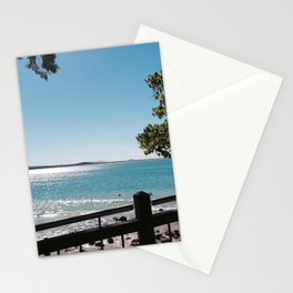 On the edge. Stationery Cards
