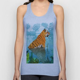Tiger Creek Unisex Tank Top