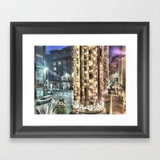 Glasgow Merchant City Framed Art Print