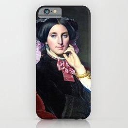 """Jean-Auguste-Dominique Ingres """"Portrait de Madame Gonse"""" iPhone Case"""