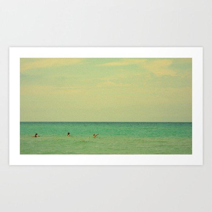 Seascape Three #3 Art Print