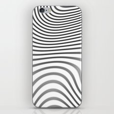 Organic Abstract 02 WHITE iPhone & iPod Skin