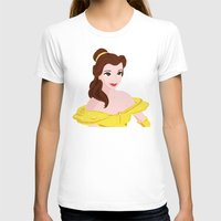 belle T-shirts featuring BELLE  by Lauren Lee Design's