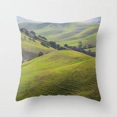 Diablo Hills Throw Pillow