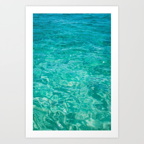 Cabo Water Art Print