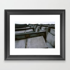 2010 - Concrete Balcony Jungle Framed Art Print