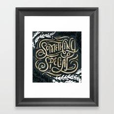 Something Special Framed Art Print