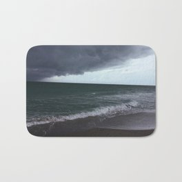 The Edge of the Weather Bath Mat
