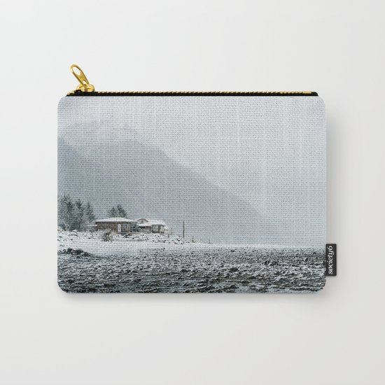 Snowy Valley Carry-All Pouch