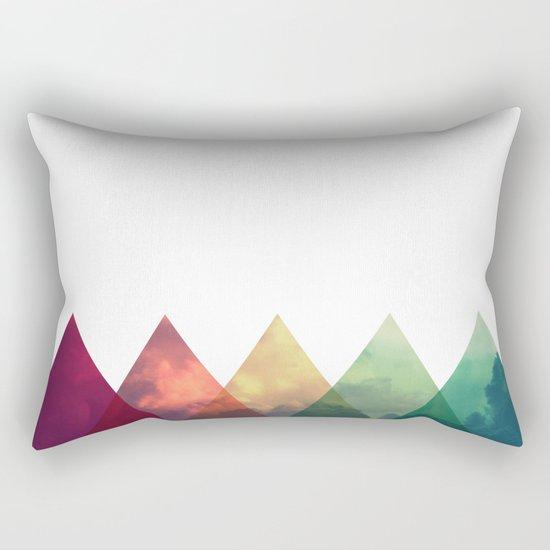 Tri-Sky Rectangular Pillow