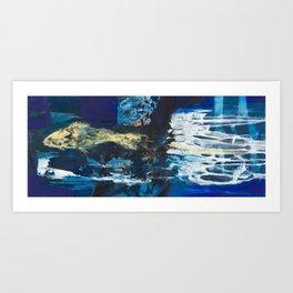 The fish Art Print