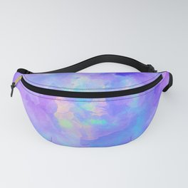 Abstract watercolor colorful painting Fanny Pack