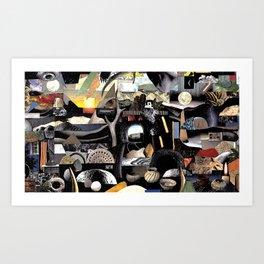 Paper Trail (Still Frame 1) Art Print