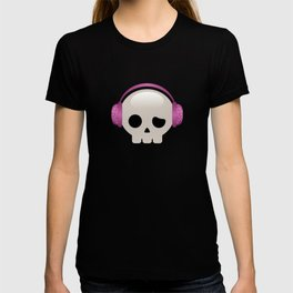 Cute Skulls with Pink Accessories T-shirt