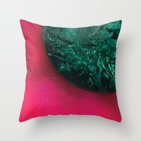 giants Throw Pillows featuring Giants by Jamie Bryan
