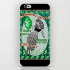 Slug Lady iPhone & iPod Skin