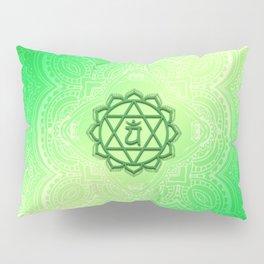 Heart Chakra by Golden Ascension Pillow Sham