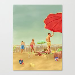 Italian summer Canvas Print