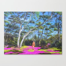 Beck in the Bush Canvas Print