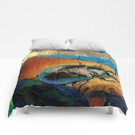 Gilded Beetle Comforters