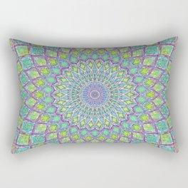 Purple Spirograph Mandala 0118 Rectangular Pillow