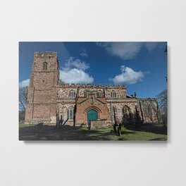 St Botolph's Church, Rugby, Warwickshire Metal Print