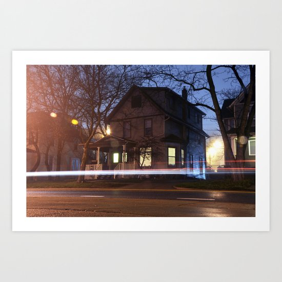 House Not On the Corner Art Print