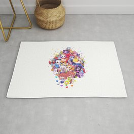 UNDERTALE MUCH CHARACTER Rug