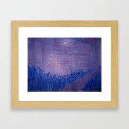 Siberia Framed Art Print