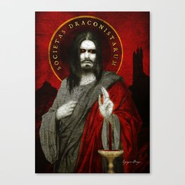 Vlad, Son of Dracul Canvas Print