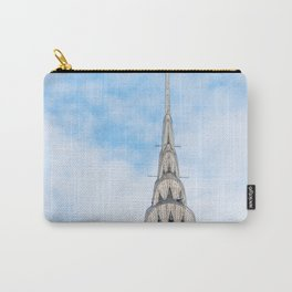 Iconic NYC Landmark Chrysler Building Architecture Carry-All Pouch