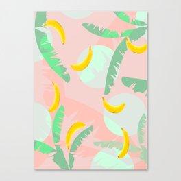 Rumba Banana Canvas Print