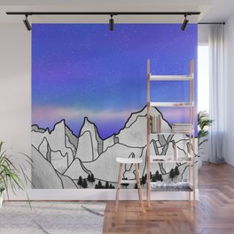 Mount Whitney Wall Mural