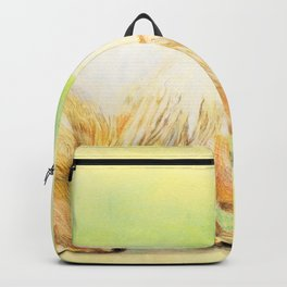 Polar Grizzly bear Backpack