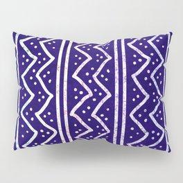 Blue Batik Pattern Pillow Sham