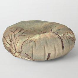 Autumn Trees Floor Pillow