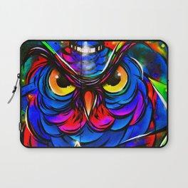 Owl Graffiti Street Art Camden London Laptop Sleeve