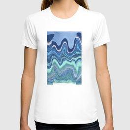 Blue waves T-shirt