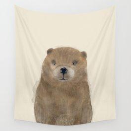little beaver Wall Tapestry