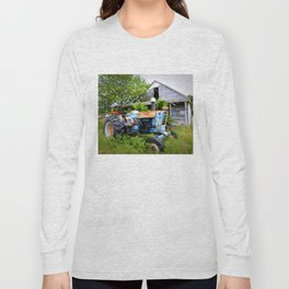 Vintage Tractor  Long Sleeve T-shirt