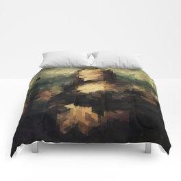 Panelscape Iconic - Mona Lisa Comforters