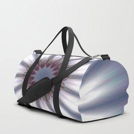 Sun Pole Starburst Mandala 2 Duffle Bag