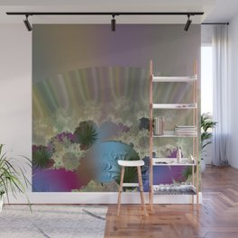 Under the calm surface Wall Mural